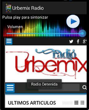 Urbemix Radio screenshot 1