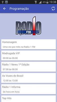 Rádio 1 FM screenshot 1