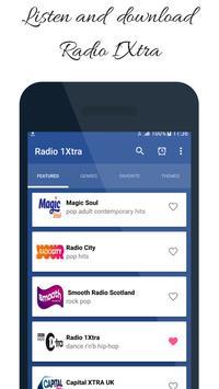 Radio 1Xtra App Station London UK poster