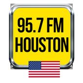 95.7 Radio Station Houston free radio player icon