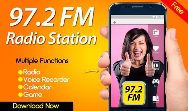97.2 Radio FM poster