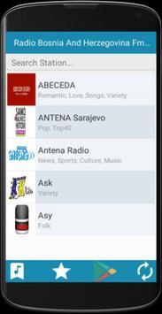 Radio Bosnia Herzegovina FM poster