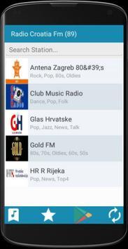 Radio Croatia FM apk screenshot