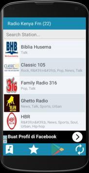 Radio Kenya FM apk screenshot