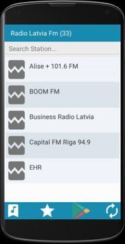Radio Latvia FM apk screenshot