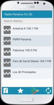 Radio Panama FM apk screenshot