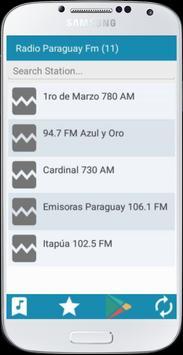 Radio Paraguay FM apk screenshot