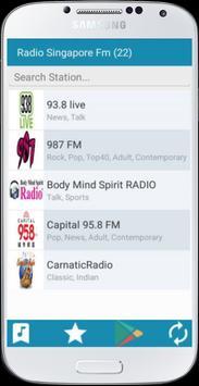 Radio Singapore FM apk screenshot