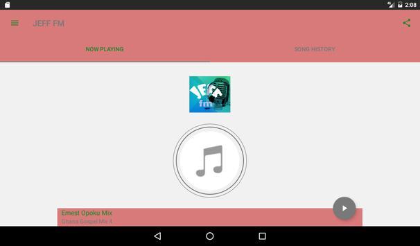 JEFF RADIO GHANA/ITALY apk screenshot