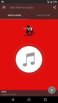 Red Warrior Radio poster