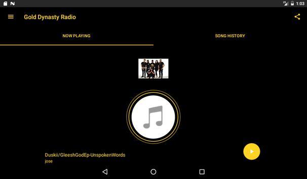 Gold Dynasty Radio apk screenshot