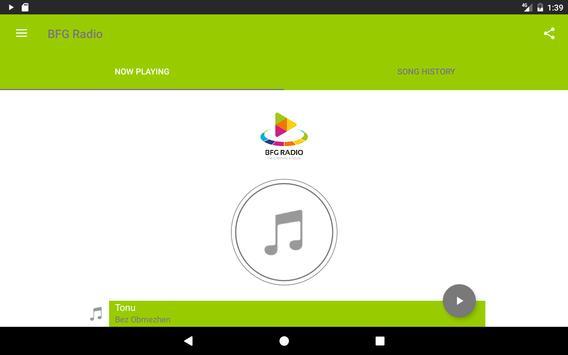 BFG Radio apk screenshot
