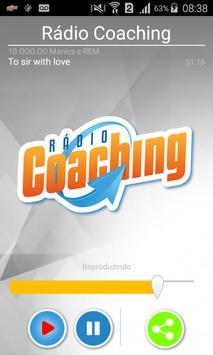 Rádio Coaching poster