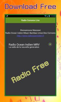 Radio Comoros Live apk screenshot