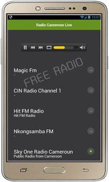 Radio Cameroon Live poster