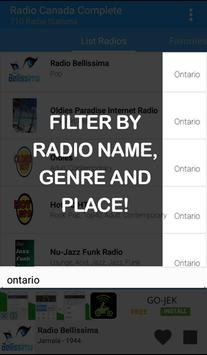 Canada Radio Complete apk screenshot