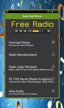 Radio Chad FM Live screenshot 1