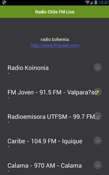 Radio Chile FM Live apk screenshot