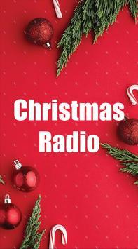 christmas music radio poster