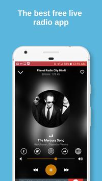 Planet Radio City APP - India screenshot 1