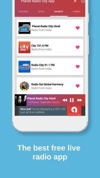 Planet Radio City APP - India screenshot 7