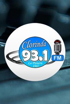 Clorinda Fm 93.1 MHz poster