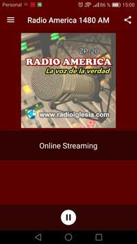 Radio America AM 1480 poster