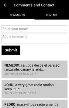 Radio America Latina apk screenshot