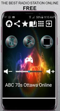 ABC 70s Ottawa Online CA App Radio Free Listen Onl poster