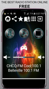 CHCQ-FM Cool 100.1 poster