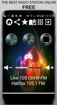 Live 105 CKHY-FM poster