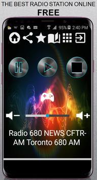CA Radio 680 NEWS CFTR-AM Toronto 680 AM App Radio for