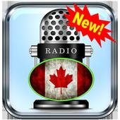 Radio Canada Ontario Toronto CA App Radio Free Lis icon