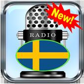SV Radio Sveriges Radio P1 Borås 88.5 FM App Radio icon