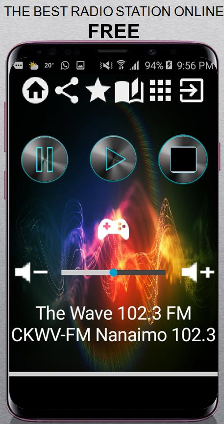 The Wave Nanaimo >> The Wave 102 3 Fm Ckwv Fm Nanaimo 102 3 Fm Ca App For