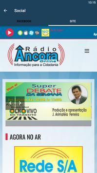 Rádio Âncora Online screenshot 7