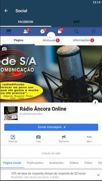 Rádio Âncora Online screenshot 6