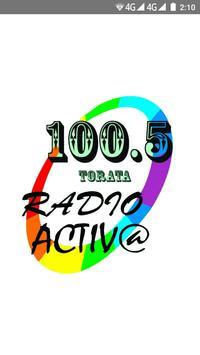 Radio Activa Torata Moquegua poster