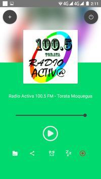 Radio Activa Torata Moquegua apk screenshot