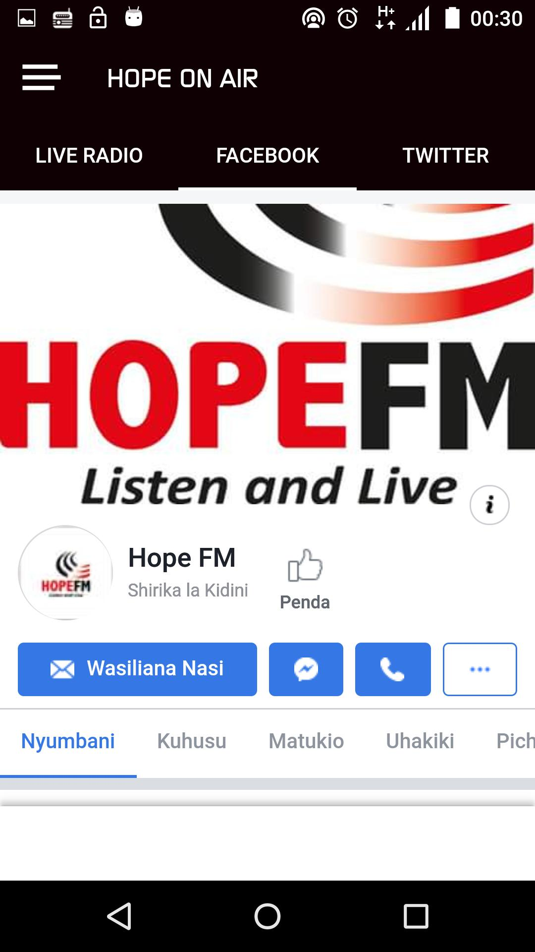 Hope On Air For Android Apk Download