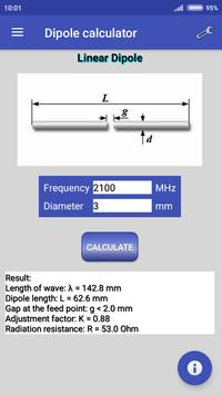 Dipole calculator poster