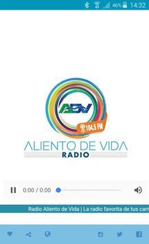 Radio Aliento De Vida poster