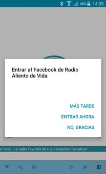 Radio Aliento De Vida screenshot 5