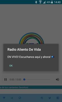 Radio Aliento De Vida screenshot 6