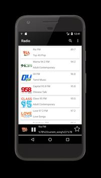 Radio Singapore - Radio Online screenshot 1