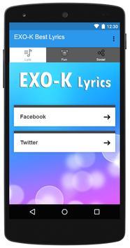 EXO-K Best Lyrics screenshot 4