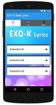 EXO-K Best Lyrics poster