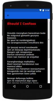 SISTAR Best Lyrics screenshot 2