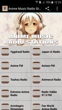 Anime Music Radio Stations apk screenshot