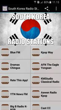 South Korea Radio Stations poster